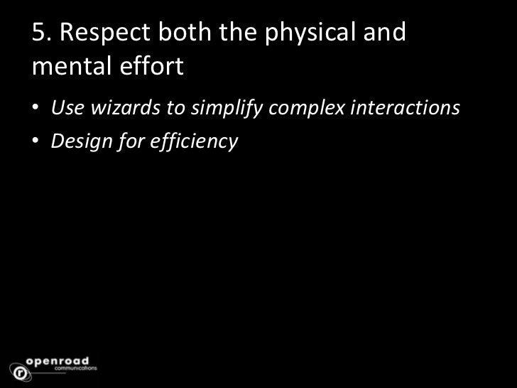 3. Provide Useful Feedback<br />Identify critical feedback<br />Employ alternative feedback modalities intelligently<br />...