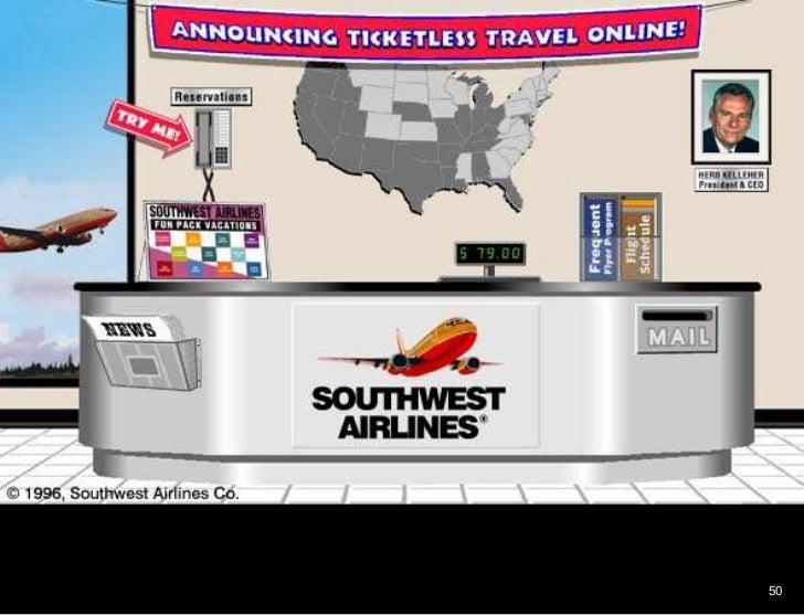 50<br />Southwest airlines<br />