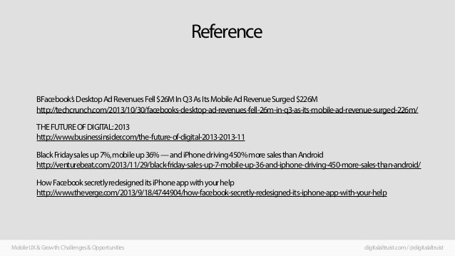 Reference  BFacebook's Desktop Ad Revenues Fell $26M In Q3 As Its Mobile Ad Revenue Surged $226M http://techcrunch.com/201...