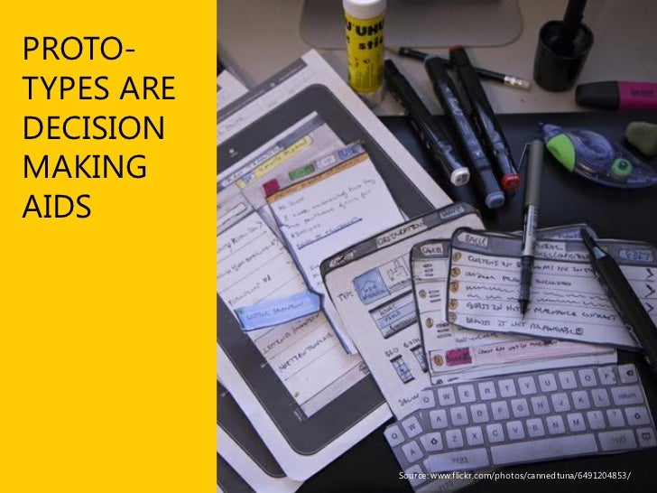 Prototyping Key reasons to include prototyping  ■ Communicate a design idea or experience       Prototypes serve as a powe...
