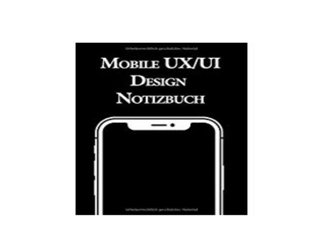 Pdf Library Mobile Ux Ui Design Notizbuch Usability Und Entwicklun