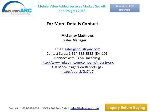 mobile value added services mvas market In 2017, the global mobile value added services (mvas) market size was million us$ and is forecast to million us in 2025, growing at a cagr of from 2018 the global mobile value added services (mvas) market report provides a complete market analysis of the industry from 2013 to 2025.