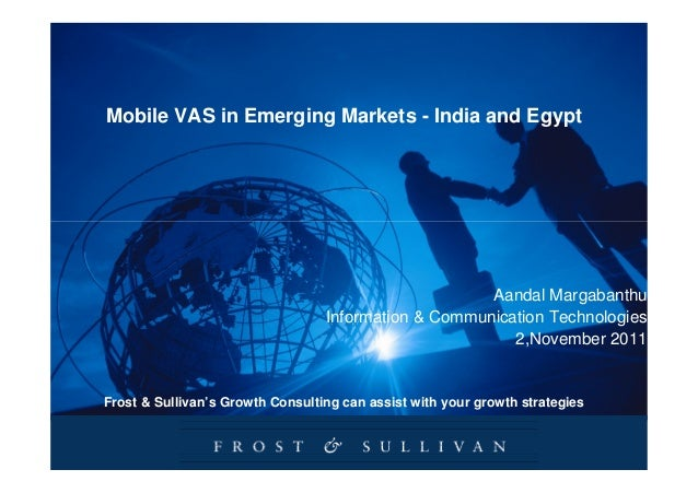 Mobile VAS in Emerging Markets - India and Egypt                                                      Aandal Margabanthu  ...