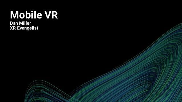 Mobile VR, Programming, Rendering