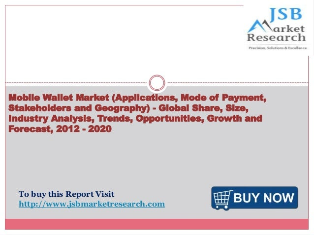 Mobile Wallet Market (Applications, Mode of Payment, Stakeholders and Geography) - Global Share, Size, Industry Analysis, ...