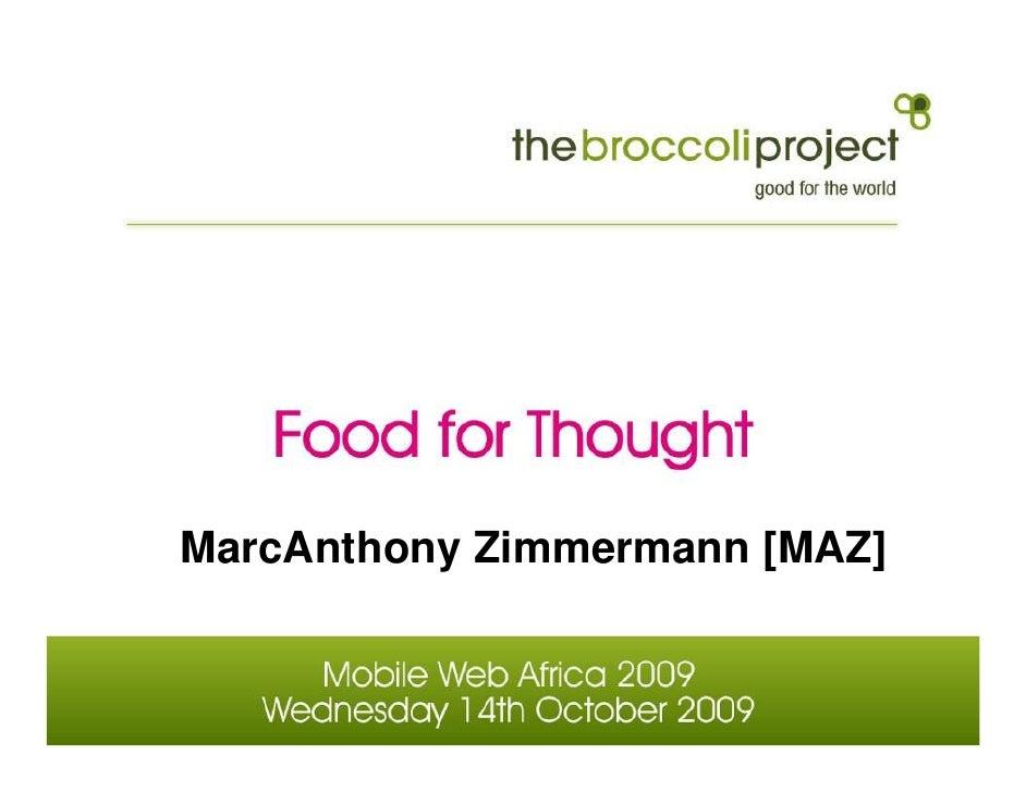 MarcAnthony Zimmermann [MAZ]