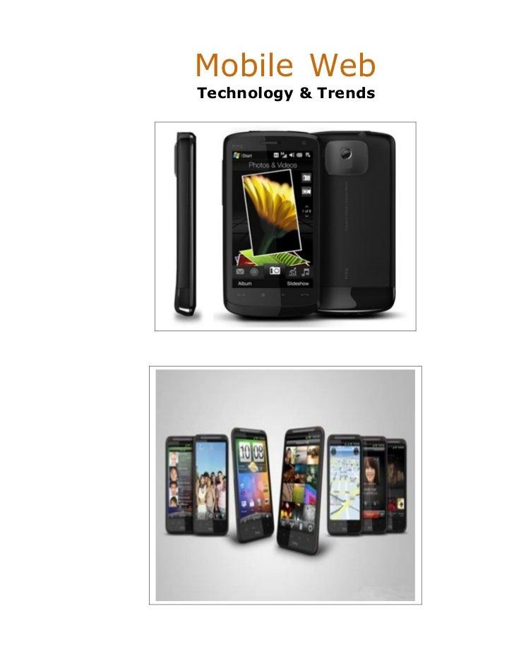 Mobile WebTechnology & Trends