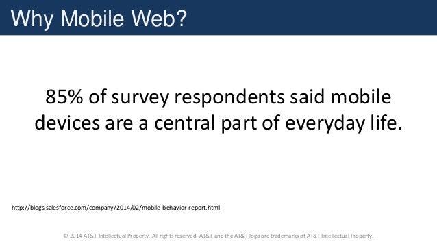 Mobile Web Performance using WebPageTest and HTTPArchive Slide 2