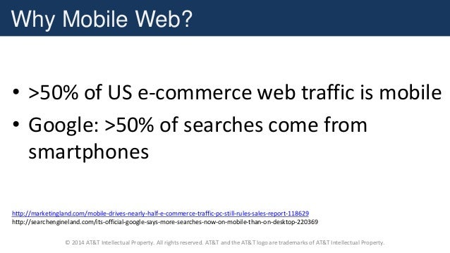 Mobile Web Performance using WebPageTest and HTTPArchive Slide 3