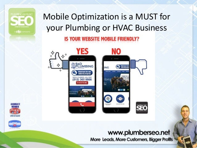 Mobile Websites A Must For Plumbing Amp Hvac Contractors