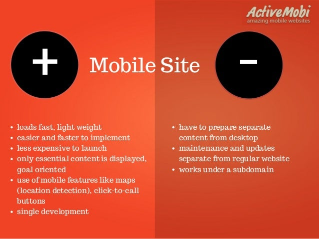 designing for mobile mobile web vs Mobile vs desktop: mobile won, but you might still be losing mobile design vs desktop design it's still common for web designers to develop wireframes and comps for your website that do not include the mobile site.