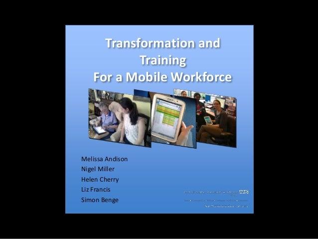 Mobile Workforce Transformation Slide 2