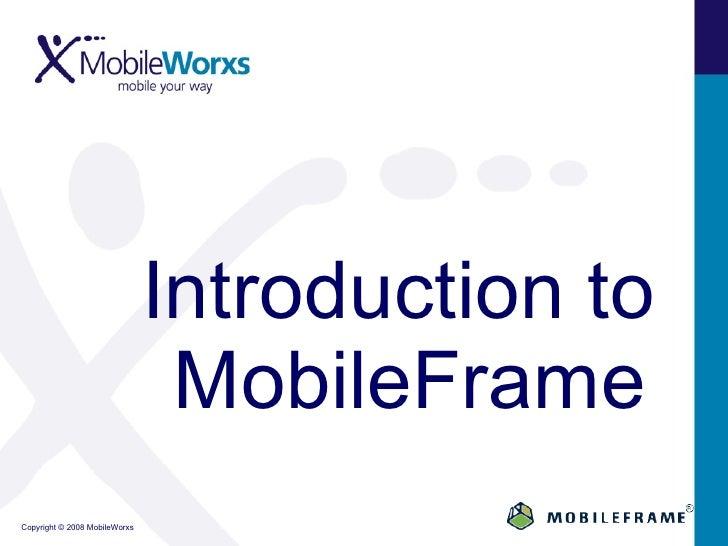 Enterprise Mobility Platform  Application Specific Mobility Applications