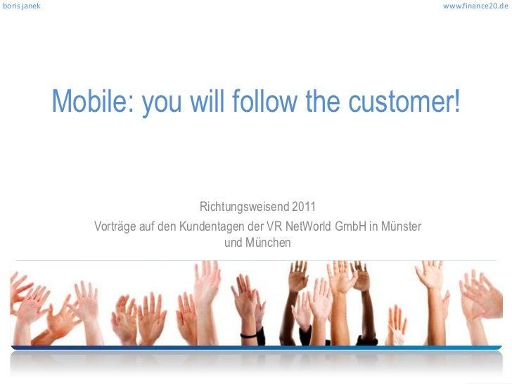 boris janek                                                                     www.finance20.de              Mobile: you ...