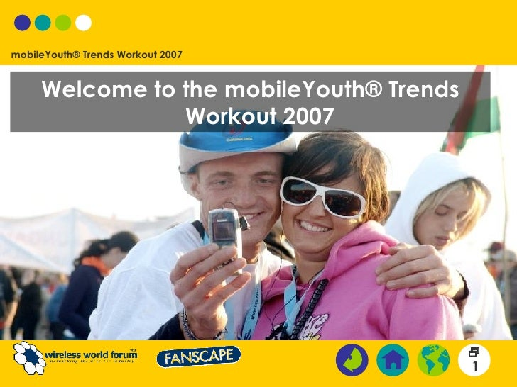 Welcome to the mobileYouth® Trends Workout 2007