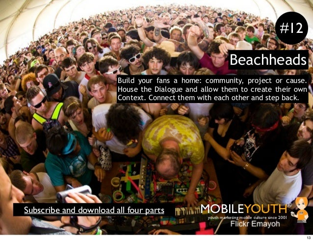 #12                                                            Beachheads                        Build your fans a home: c...