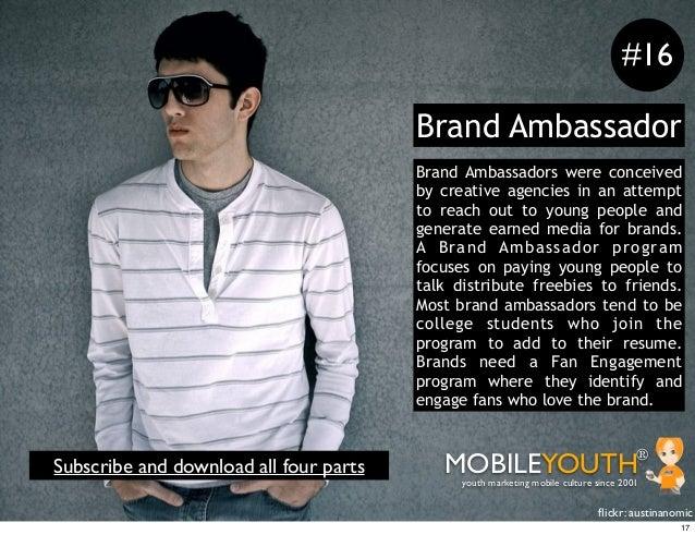 #16                                        Brand Ambassador                                        Brand Ambassadors were ...