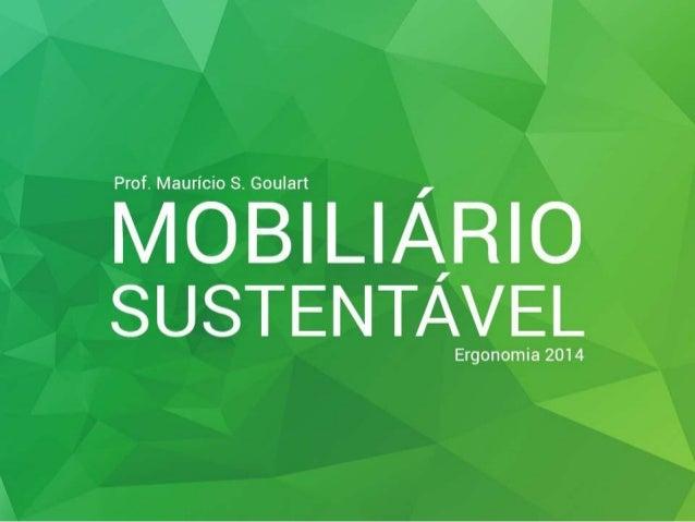 Mobiliário Sustentável