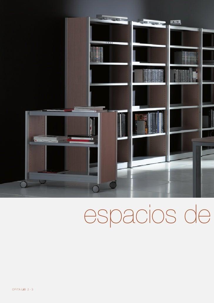 Mobiliario de oficina librerias bibliotecas ofita lib - Mobiliario para libreria ...
