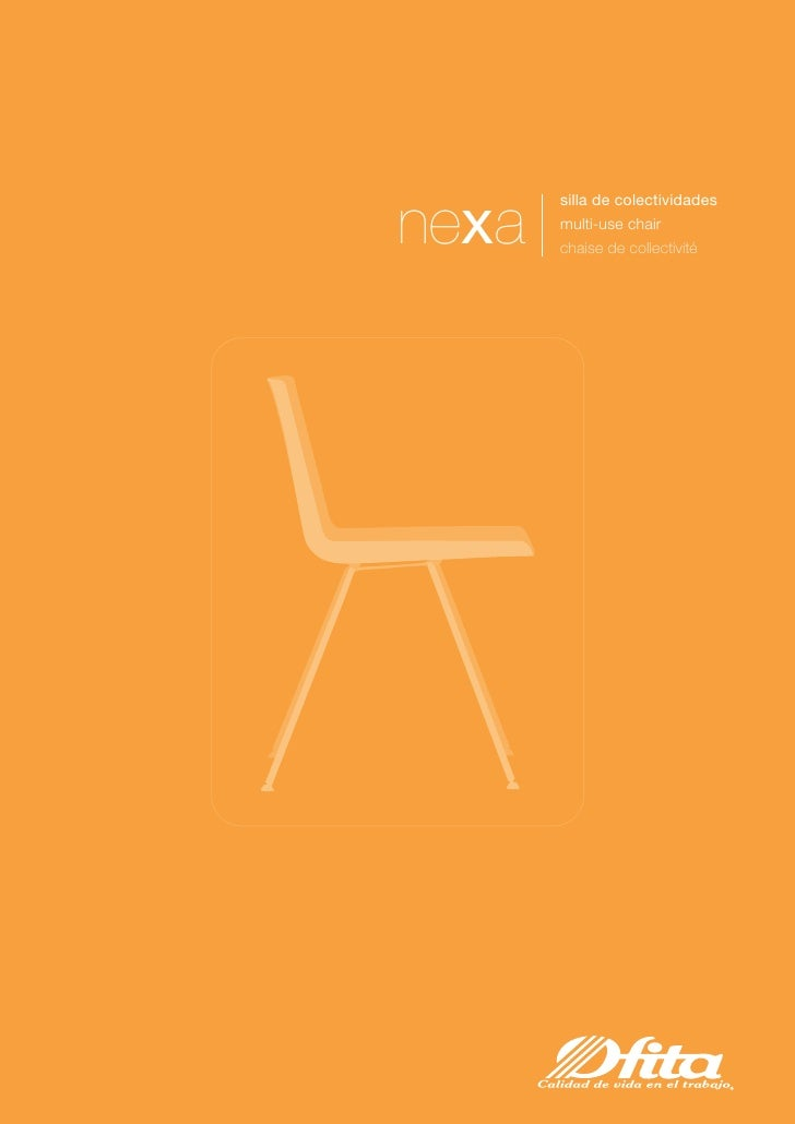 silla de colectividades  nexa   multi-use chair        chaise de collectivité