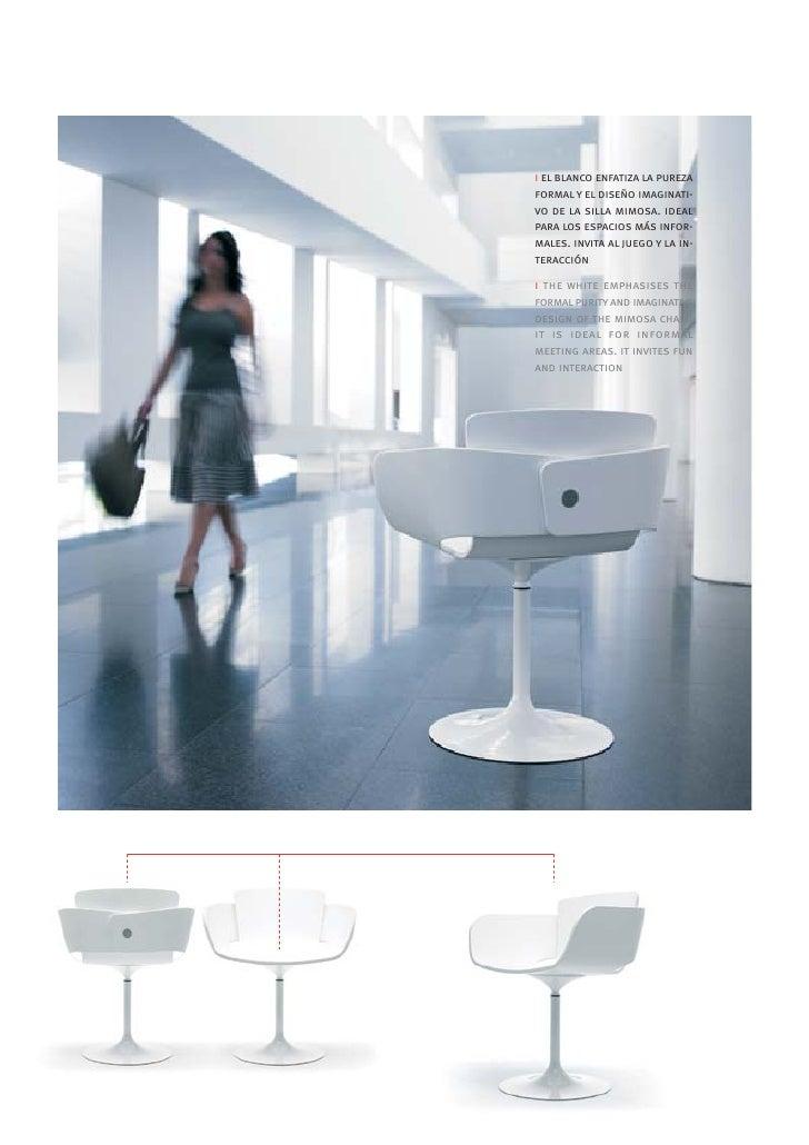 Mobiliario de oficina silla mimosa for Mobiliario oficina sillas