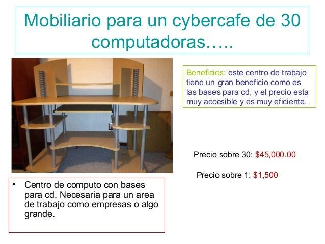 Mobiliario Para 30 Maquinas De Un Ciber