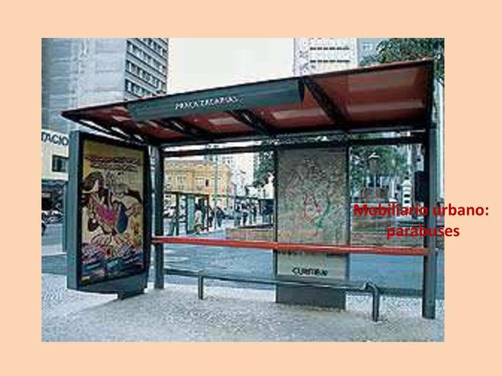 Mobiliario urbano for Mobiliario urbano contemporaneo