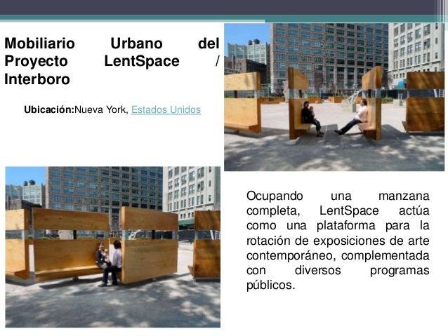 Mobiliario urbano casos de estudio ciclovias y asi for Ejemplos de mobiliario urbano