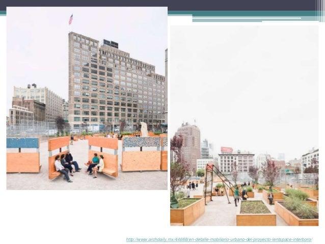 Mobiliario urbano casos de estudio ciclovias y asi for Mobiliario urbano contemporaneo