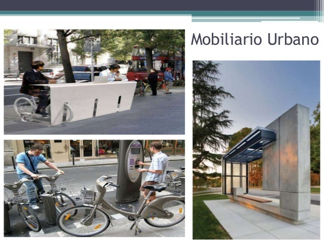 Mobiliario Urbano Casos De Estudio Ciclovias Y Asi