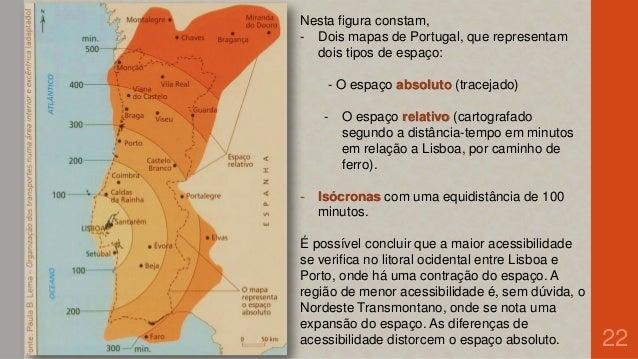 mapa de portugal distancias Mobilidade e comunicação   1 mapa de portugal distancias