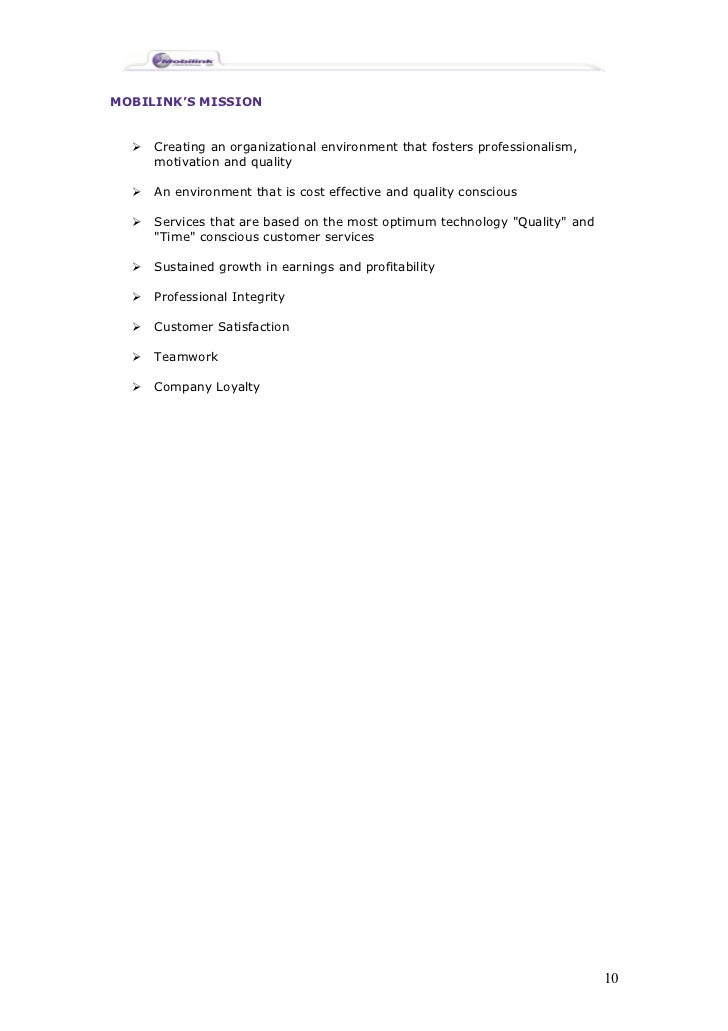 Mobilink Management Report – Chocolate Fever Worksheets
