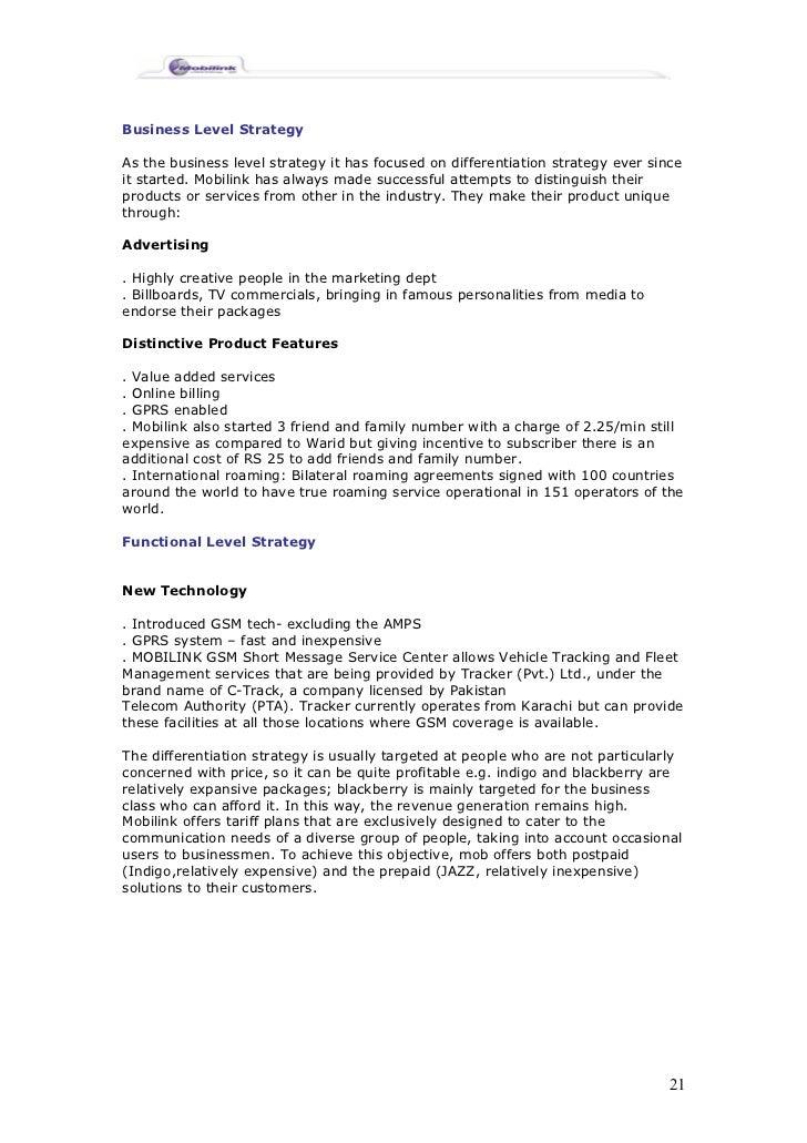 Citibank Credit Card Payment Online >> Mobilink Management Report