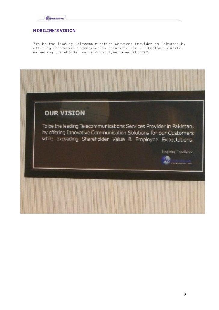 a report on mobilink Veoncom.
