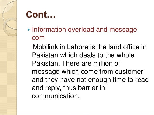 objectives of mobilink Employees have to work together to meet company's objectives an employee with a high sense of teamwork helps a team meet its goals and deliver quality work these employees respect their peers and help where they can about mobilink careers.