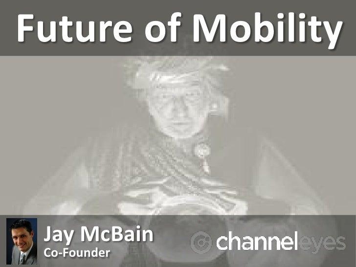 Future of Mobility Jay McBain Co-Founder