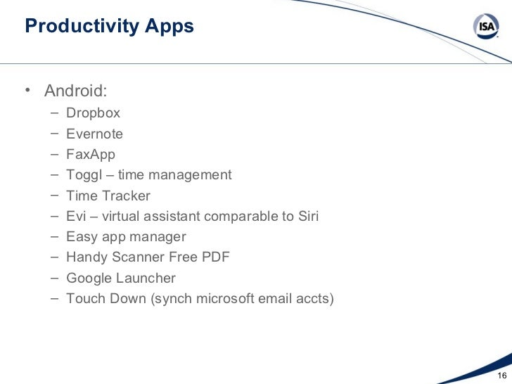 Mobility And Apps The Intersection Of Productivity In