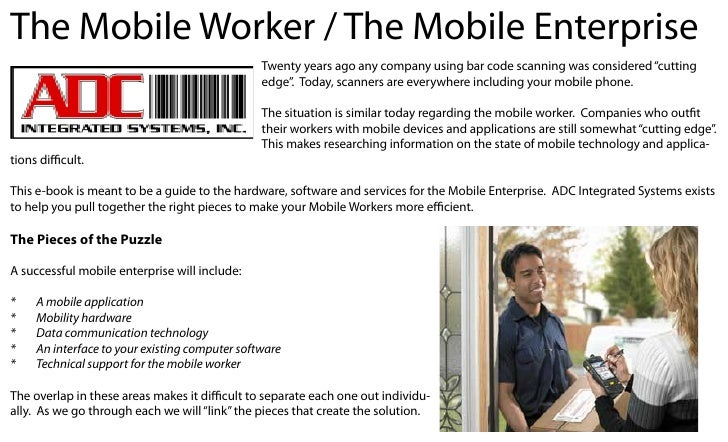 The Mobile Worker / The Mobile Enterprise