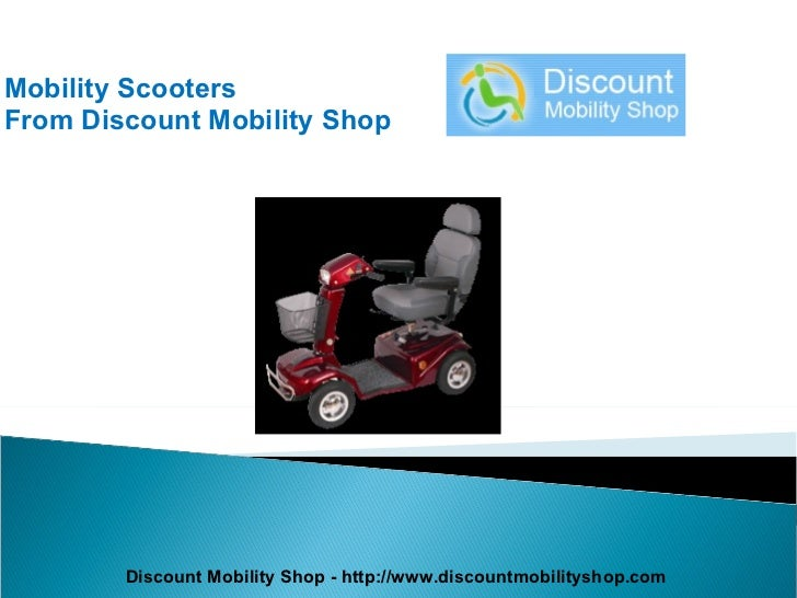 Mobility Scooters From Discount Mobility Shop Discount Mobility Shop - http://www.discountmobilityshop.com