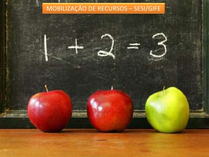 MOBILIZAÇÃO DE RECURSOS – SESI/GIFE <br />