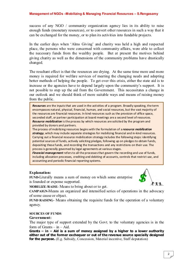role of voluntary organizations & govt