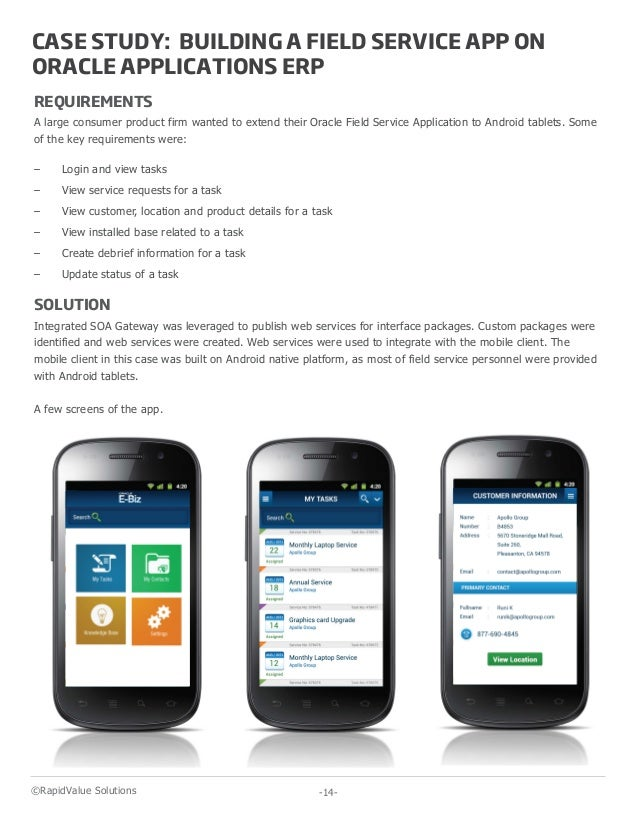 Mobilizing Oracle Applications ERP - A Whitepaper by