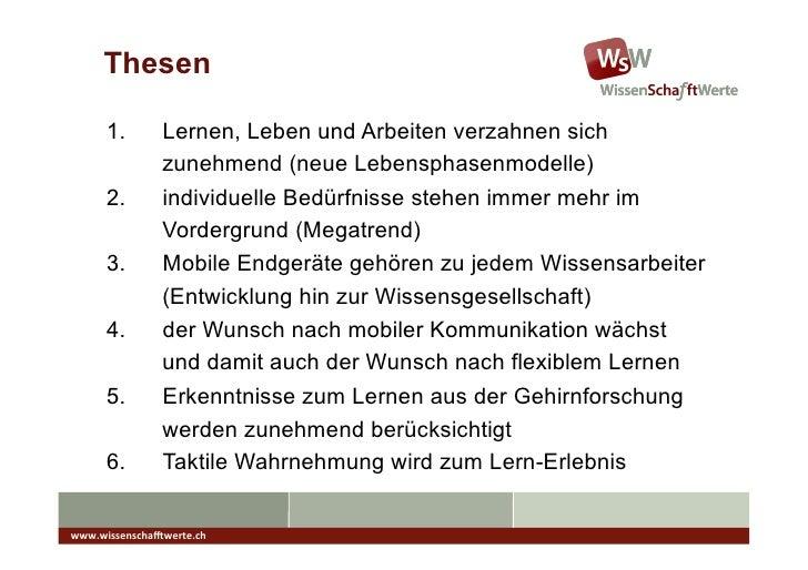 Zukunft des Mobilen Lernens mit Scribicon  Slide 3