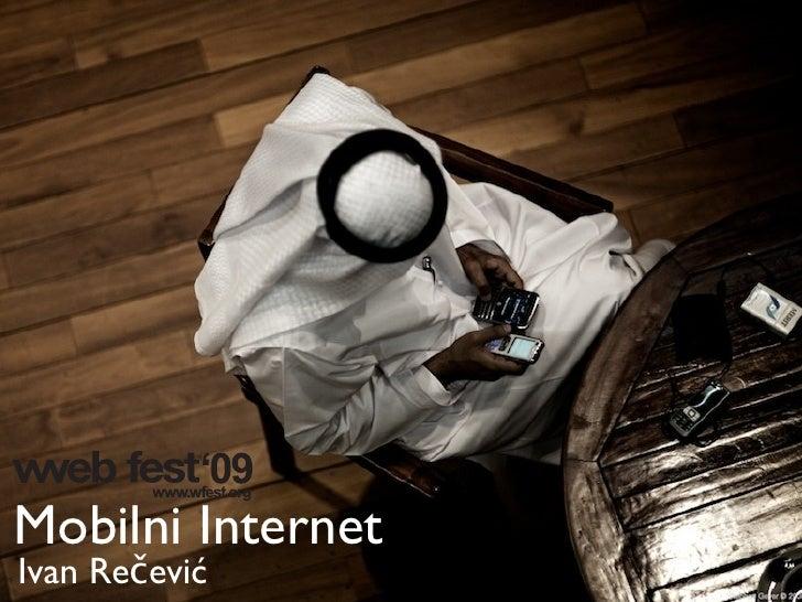 Mobilni Internet Ivan Rečević