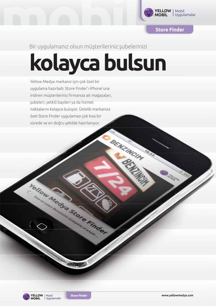 Mobil uygulamalar storefinder