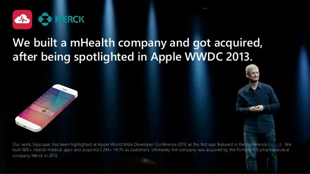 Our work, Skyscape, has been highlighted at Apple World Wide Developer Conference 2013 as the first app featured in the co...
