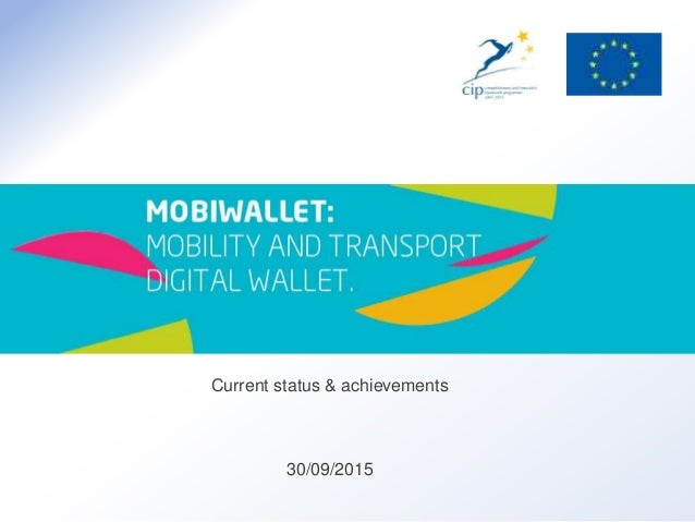 Current status & achievements 30/09/2015