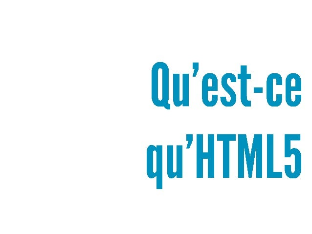 Mobiz - 2012-11-15 - HTML5, une révolution à plusieurs niveaux Slide 3