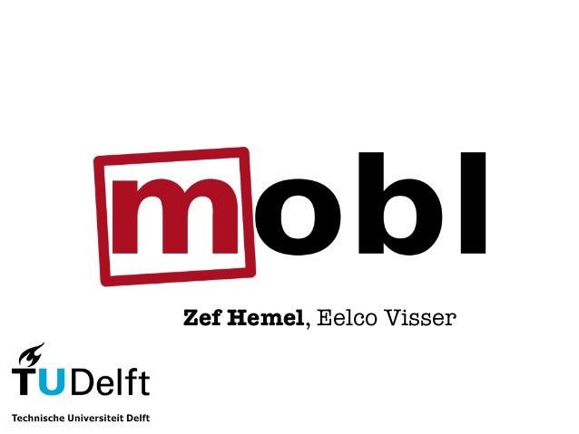 Zef Hemel, Eelco Visser