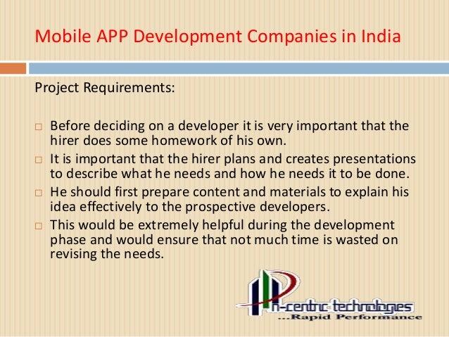 Mobile App Development Companies in India Slide 3